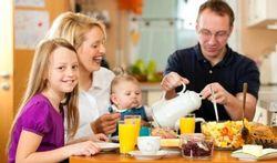 Repas en famille : tout bénéfice pour l'enfant