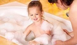 Bain de l'enfant : attention au risque de brûlure