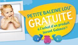 A l'achat d'une référence LAVANTE Galenco Baby®, une petite baleine de bain gratuite [publi-info]