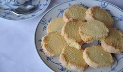 Les sablés aux agrumes et à la vanille
